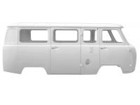 Каркас кузова (микроавтобус) карб/инж под щиток приборов Евро-4, крепление н/о белая ночь
