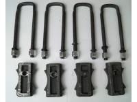 Комплект для лифта (рессора/мост) 60 мм УАЗ Хантер, Патриот, сталь