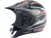 Шлем мотоциклетный кроссовый Bailide черный BLD-110 blk