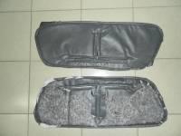 Утеплитель радиатора (в/кожа,поролон,ватин) на УАЗ 452 Серый