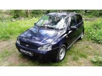 Накладки на передние фары (Реснички) Lada (ВАЗ) Kalina (хэтчбэк) 2004-2013