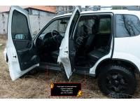 Накладки на внутренние пороги дверей Lada (ВАЗ) Niva 2020-