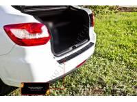 Накладка на задний бампер Lada (ВАЗ) Granta лифтбек 2014-2018 (I дорестайлинг)
