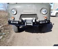 Бампер передний силовой УАЗ-452 РУБИКОН-1 без кенгурина