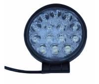 Фара светодиодная P019 42W 4D 14 диодов по 3W (габаритные размеры 115*138*70мм; цветовая температура 6000K; 60° ближний свет, 30° дальний свет)